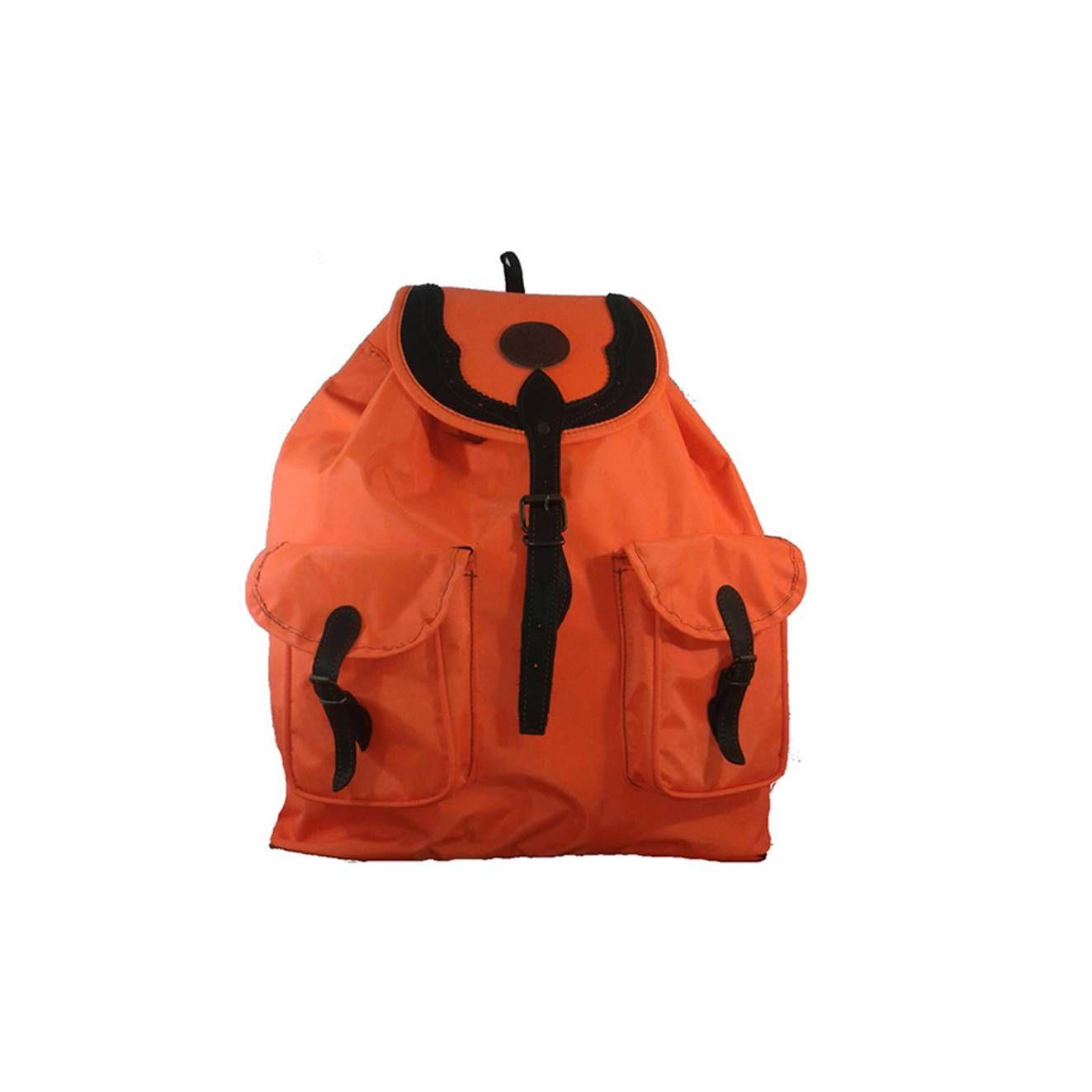 Mochila de caza grande en naranja, fabricada en cordura: Tienda online de Artículos de Caza