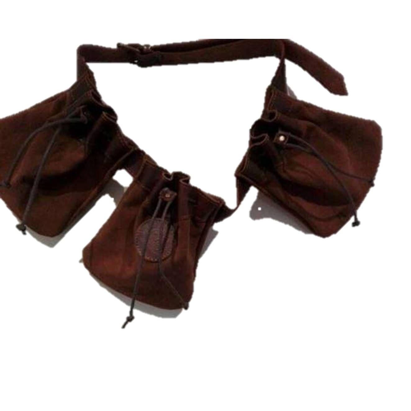 Bolsa especial cetrería en piel con cinturón incorporado: Tienda online de Artículos de Caza