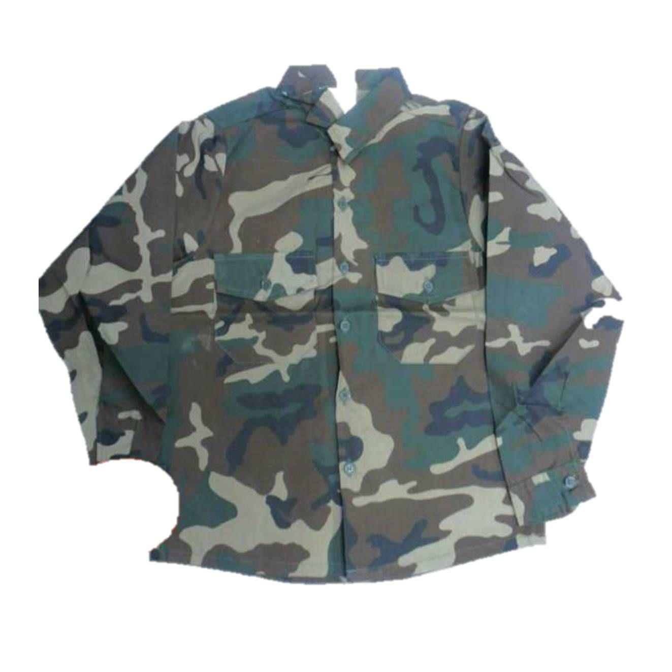 Camisa niño camuflaje para conjunto de pantalón y chalecos varias tallas: Tienda online de Artículos de Caza