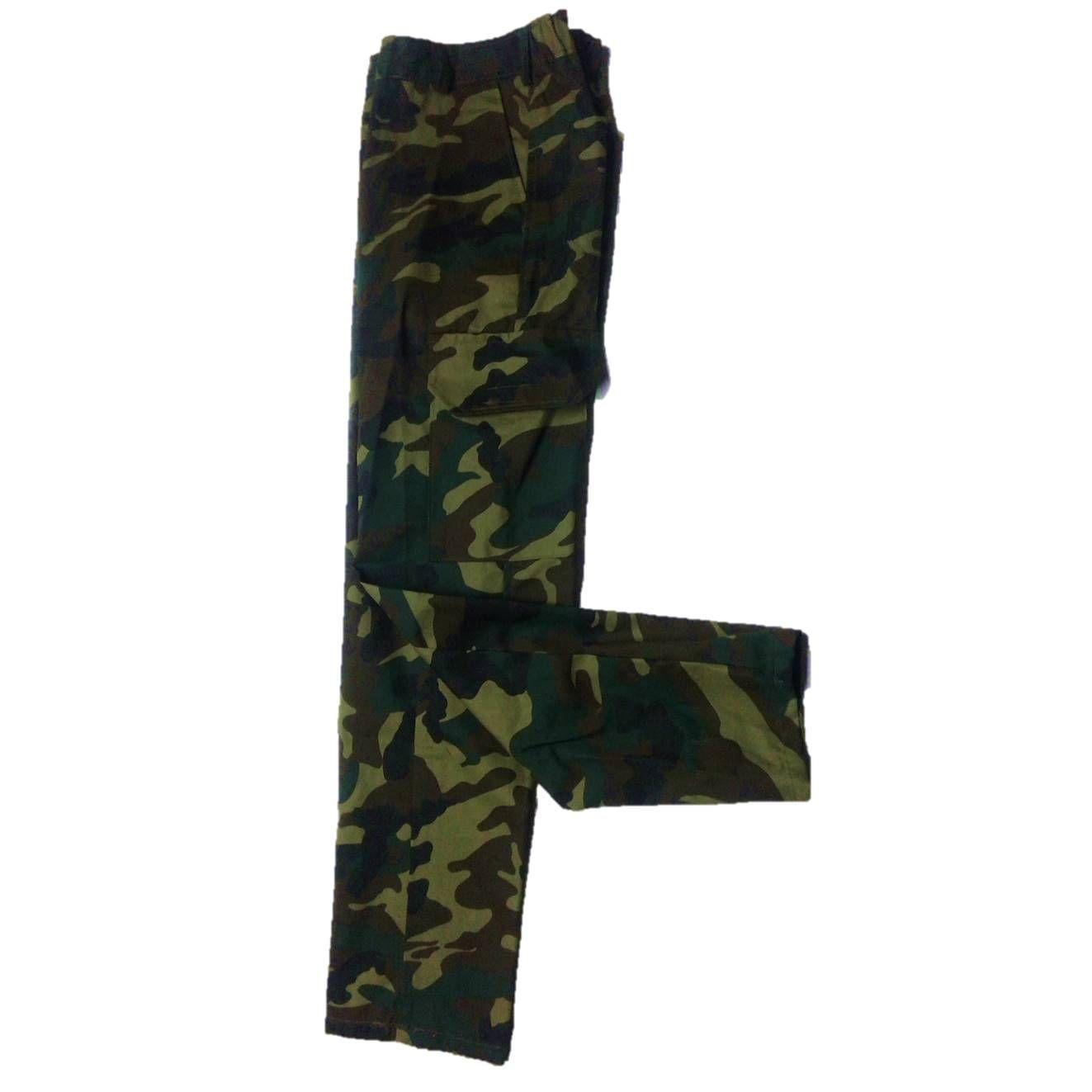 Pantalon niño camuflaje para conjunto de chaleco y camisa varias tallas: Tienda online de Artículos de Caza