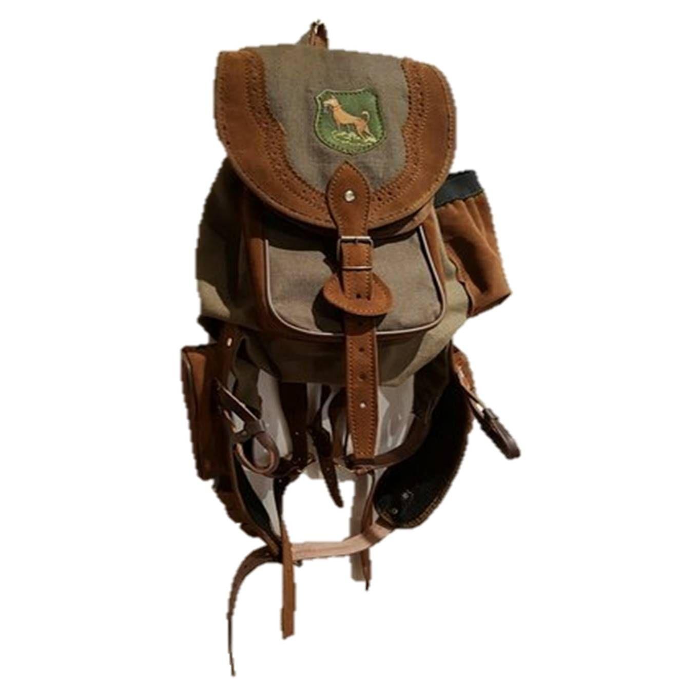 Mochila de caza con canana, botellero y colgador: Tienda online de Artículos de Caza
