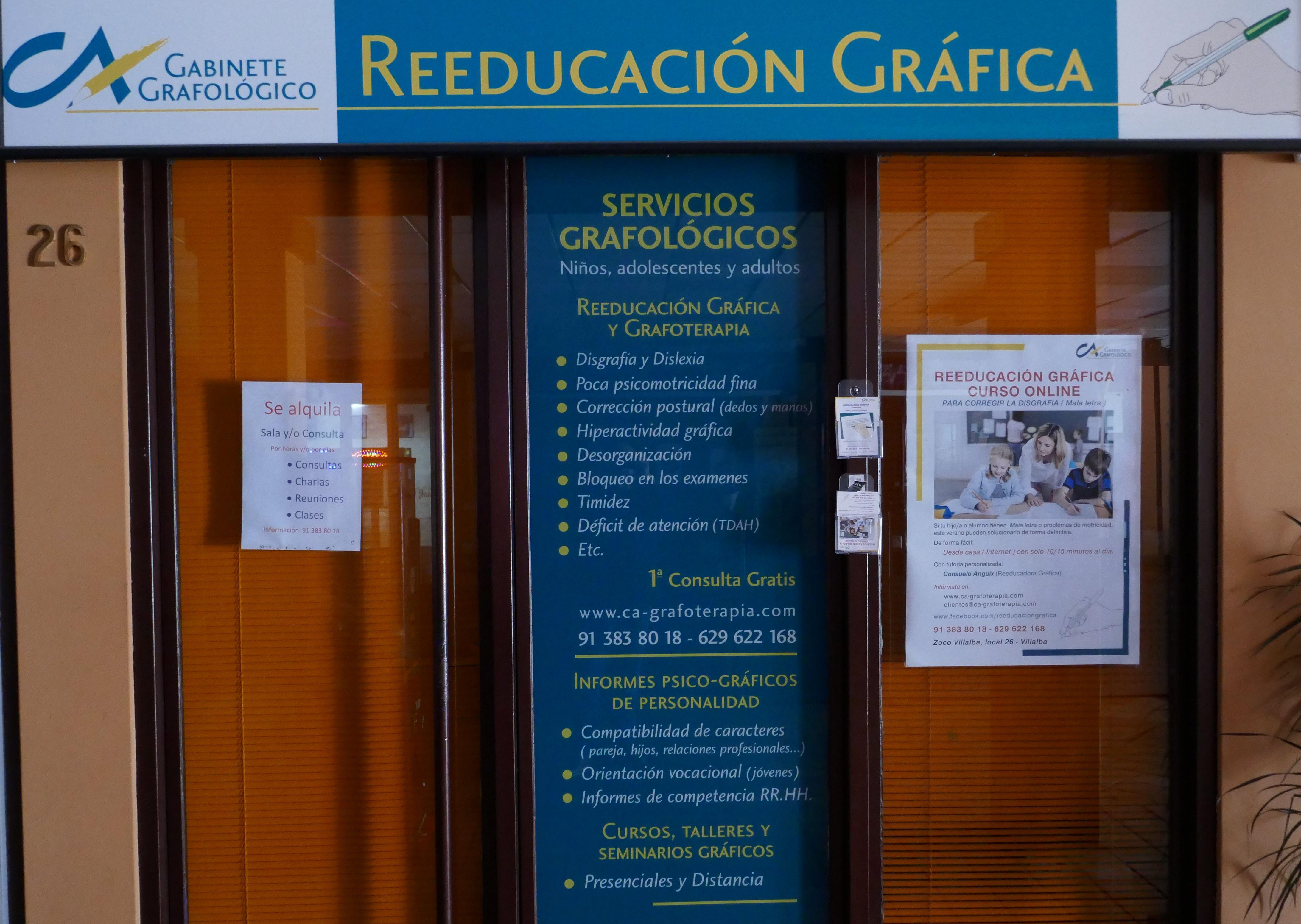 Gabinete grafológico: Nuestros locales de Zoco Villalba