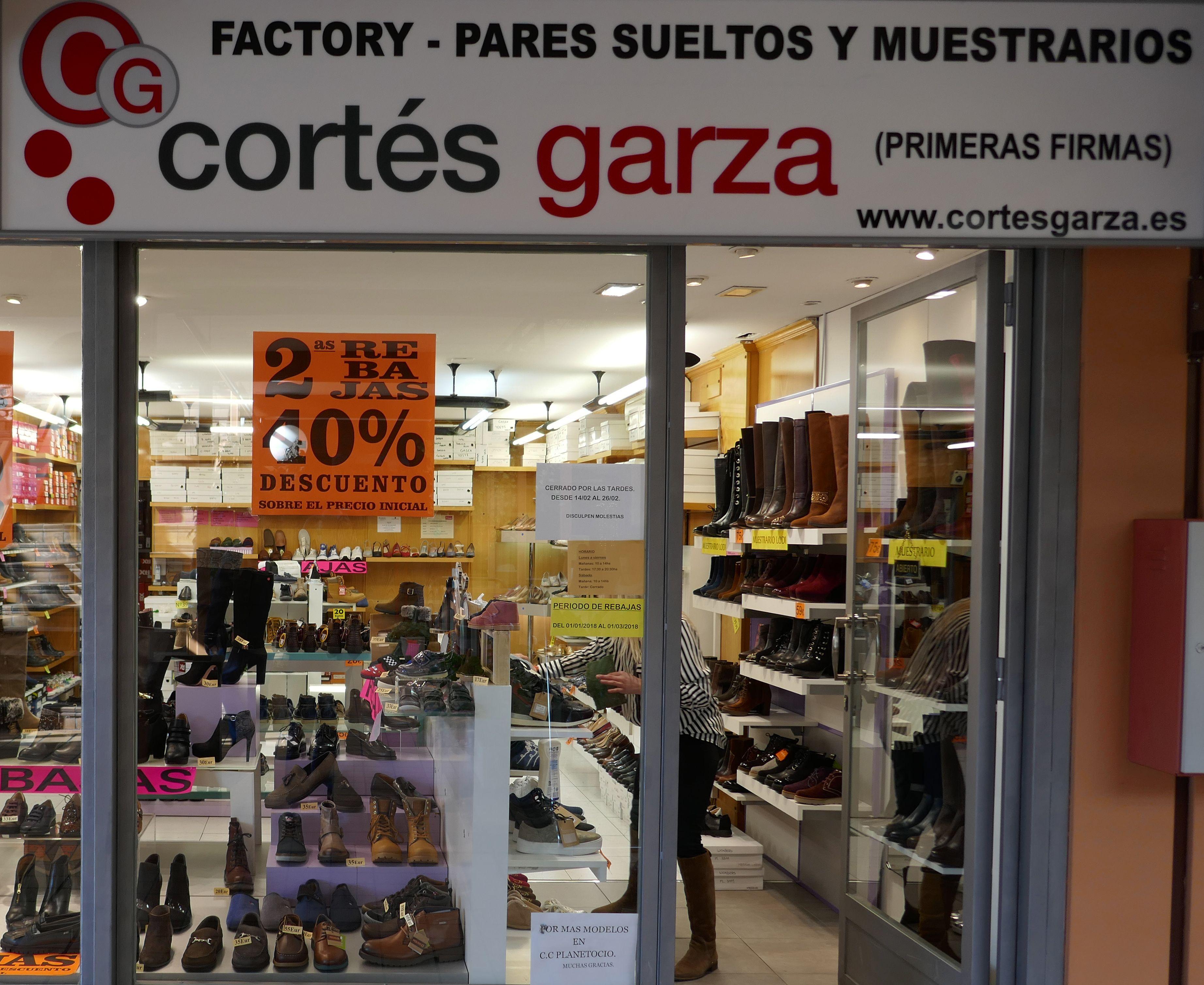 Cortés Garza: Nuestros locales de Zoco Villalba