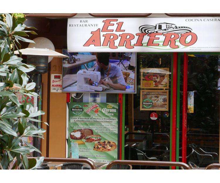 El Arriero, bar restaurante