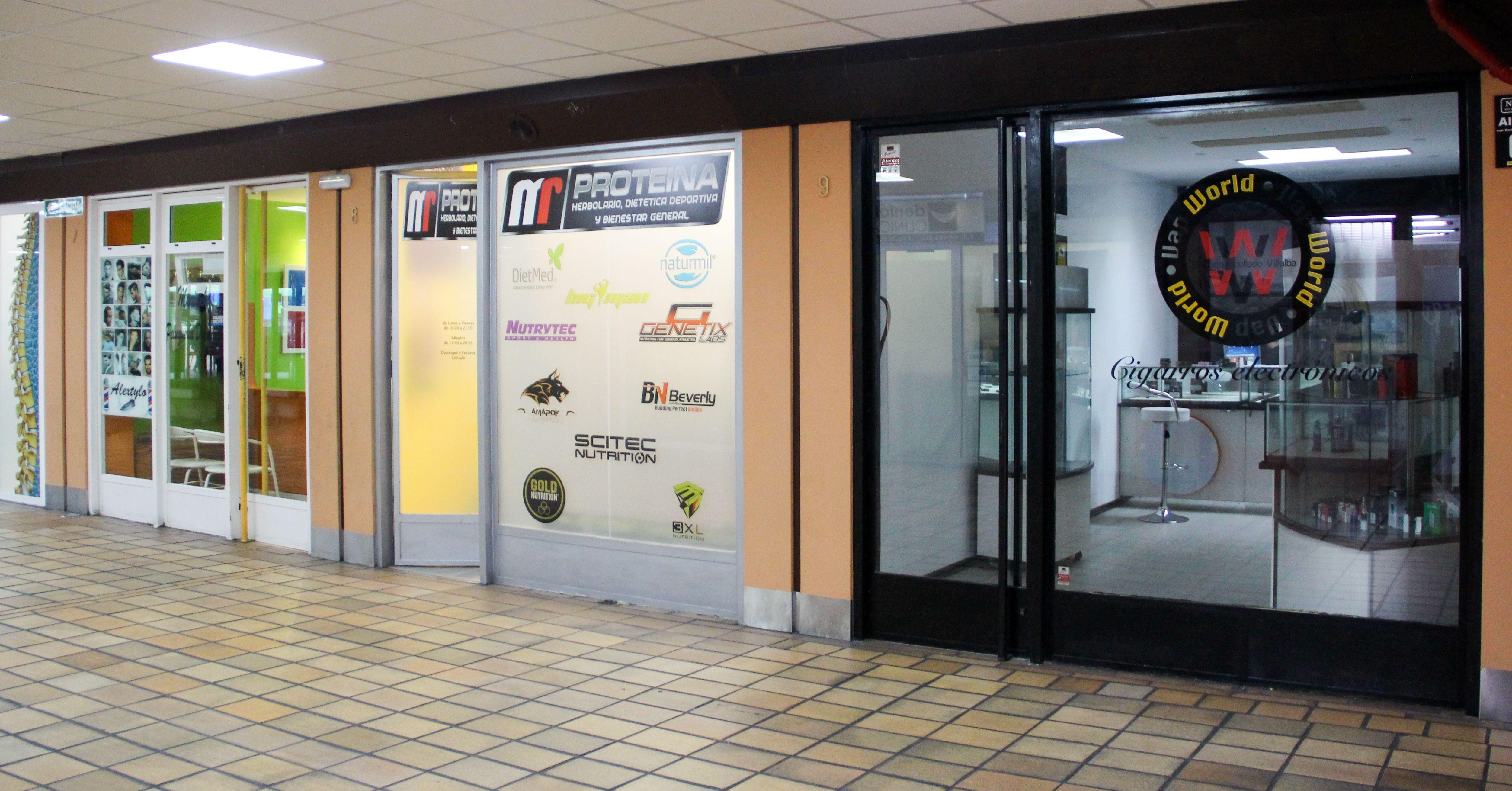 Tenemos una oferta comercial variada en el Centro Comercial Zoco de Villalba