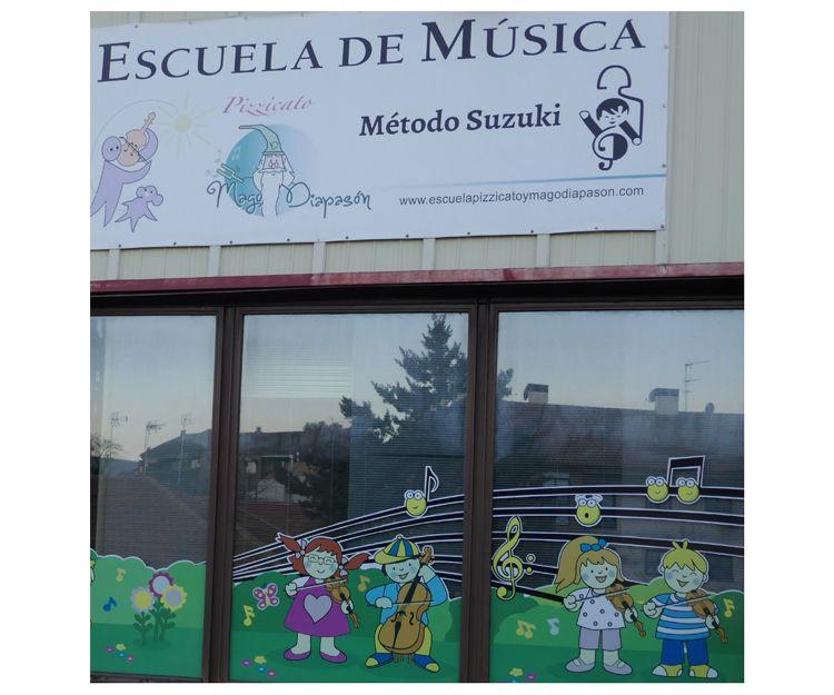 Escuela de música con el método suzuki