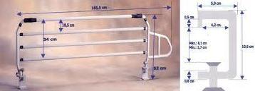 BARANDILLAS: Catálogo de Productos de Ortopedia Anglada, S.L.