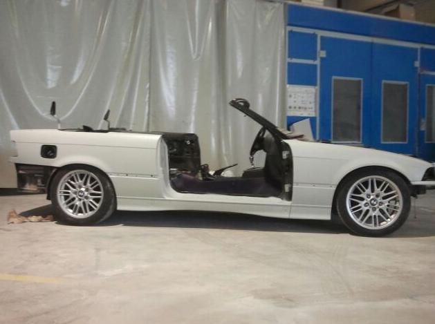 Antes de la restauración en Autochapa 2000