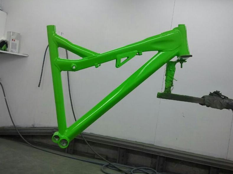 Restauración de bicicleta en Autochapas 2000
