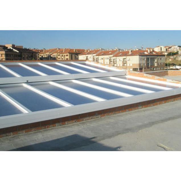 Cubiertas de aluminio: Productos y servicios   de Aluminios Álamo