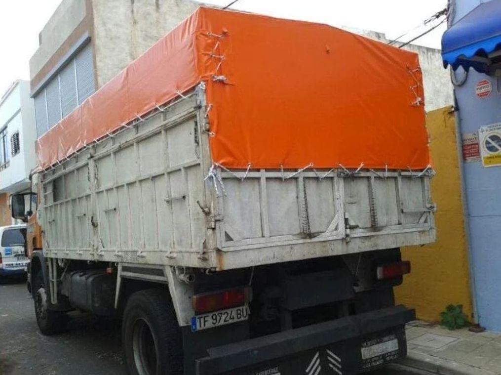 Encerados para camiones en Tenerife