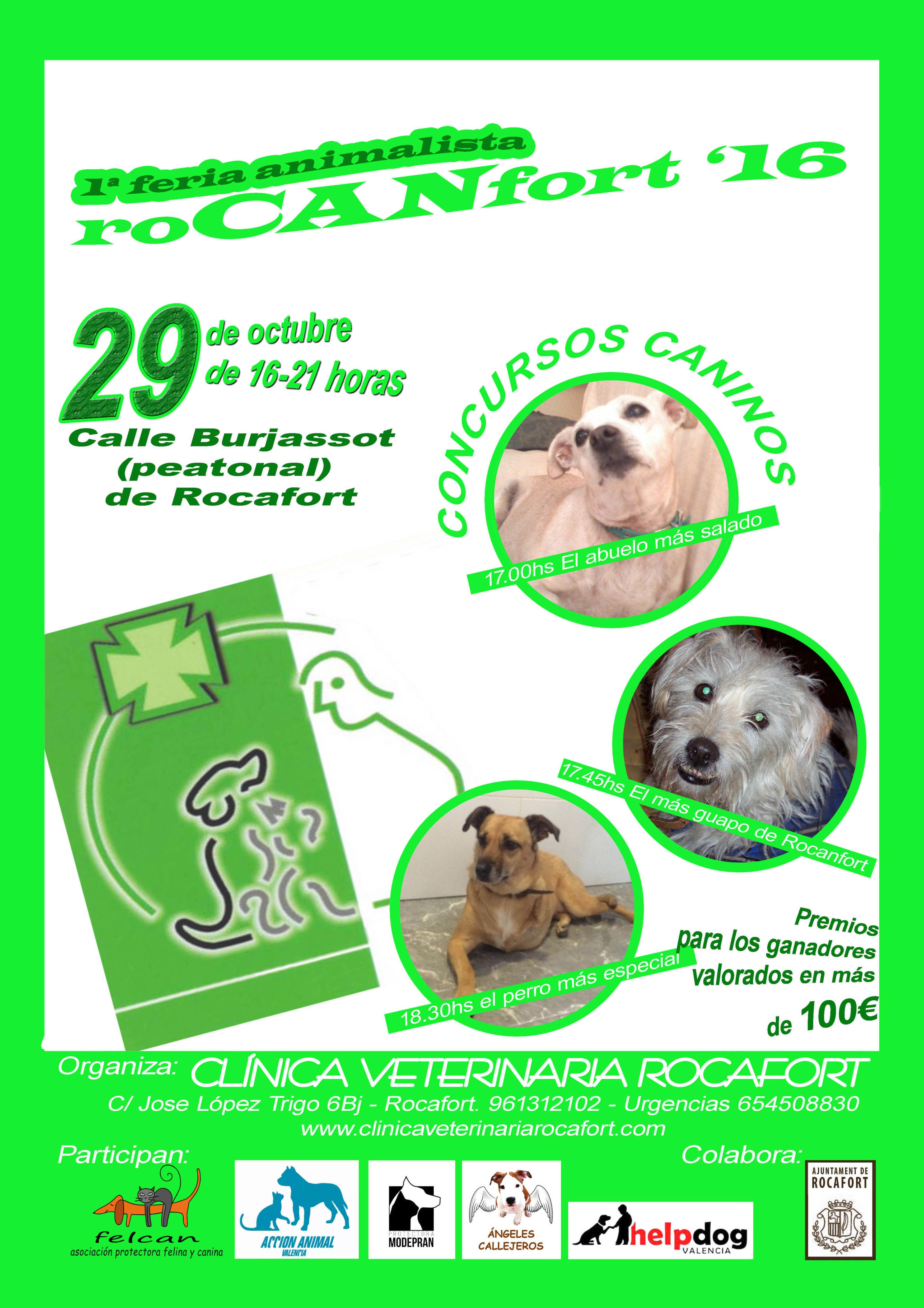 PRIMERA FERIA ANIMALISTA ROCANFORT 2016