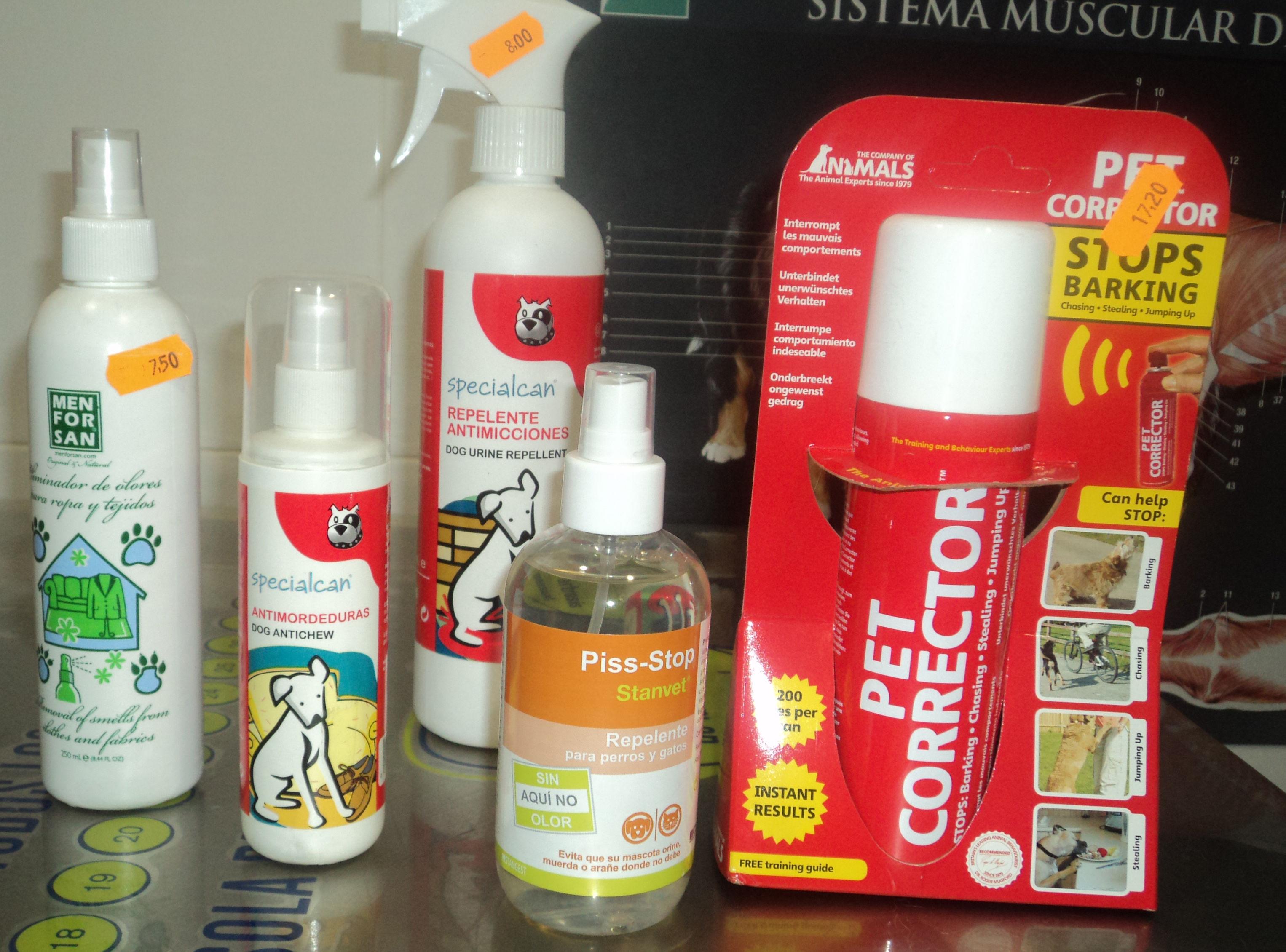 Un spray para cada cosa: Catálogo de Clínica Veterinaria Rocafort