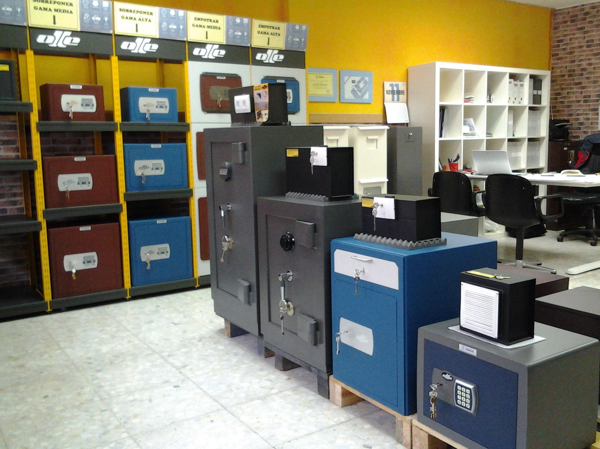 Interior de tienda en Alcobendas