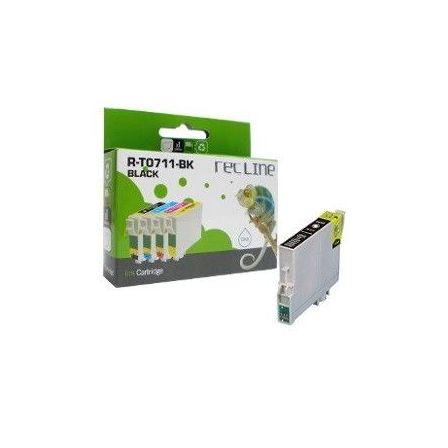 EPSON T0711 NEGRO CARTUCHO DE TINTA COMPATIBLE : Productos y servicios de Rec Line