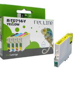 EPSON T0714 AMARILLO CARTUCHO DE TINTA COMPATIBLE: Productos y servicios de Rec Line