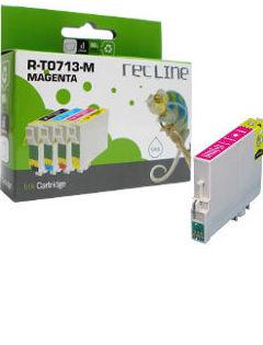 EPSON T0713 MAGENTA CARTUCHO DE TINTA COMPATIBLE: Productos y servicios de Rec Line
