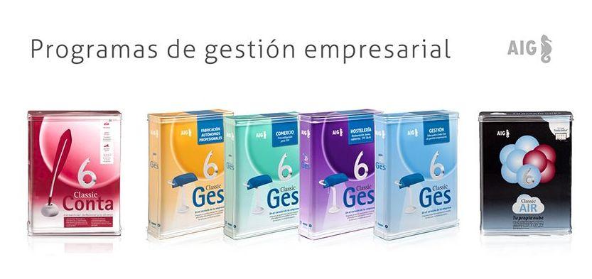 SOFTWARE DE GESTION / TPV / TIENDA ON LINE AIG: Productos y servicios de Rec Line