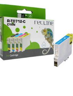EPSON T0712 CIAN CARTUCHO DE TINTA COMPATIBLE: Productos y servicios de Rec Line