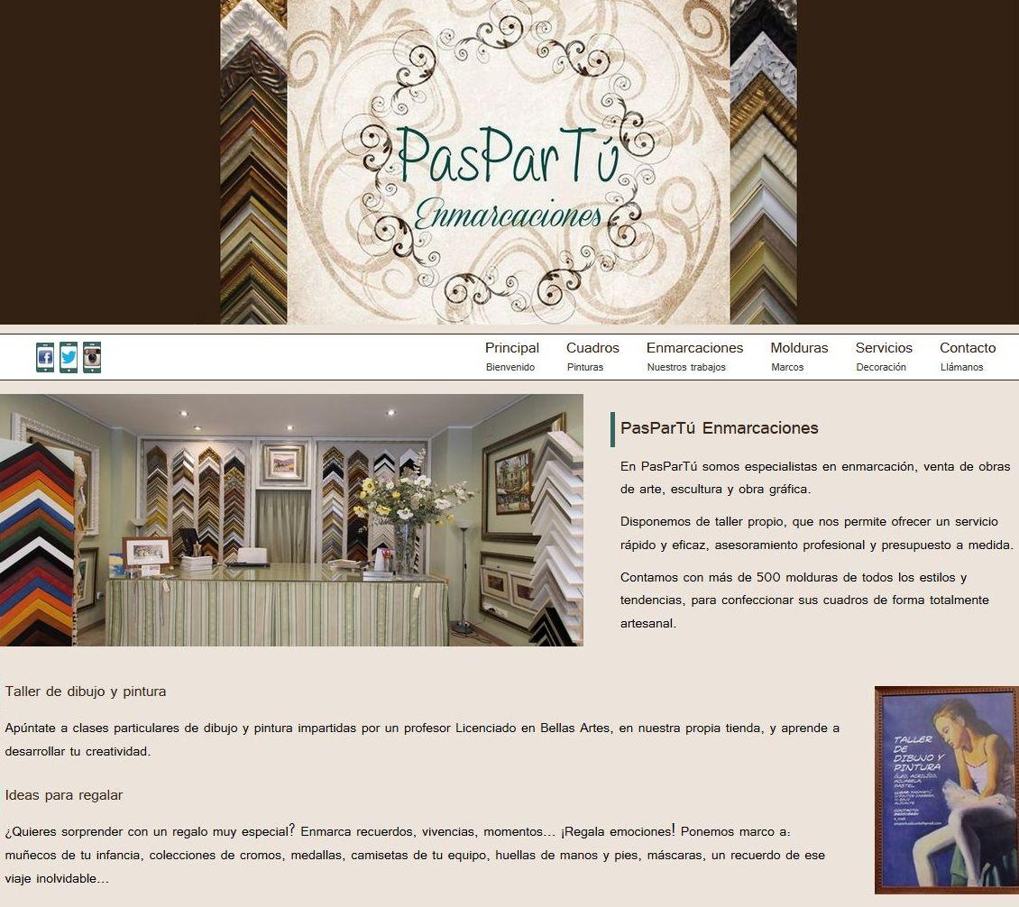 PAGINA WEB: Productos y servicios de Rec Line