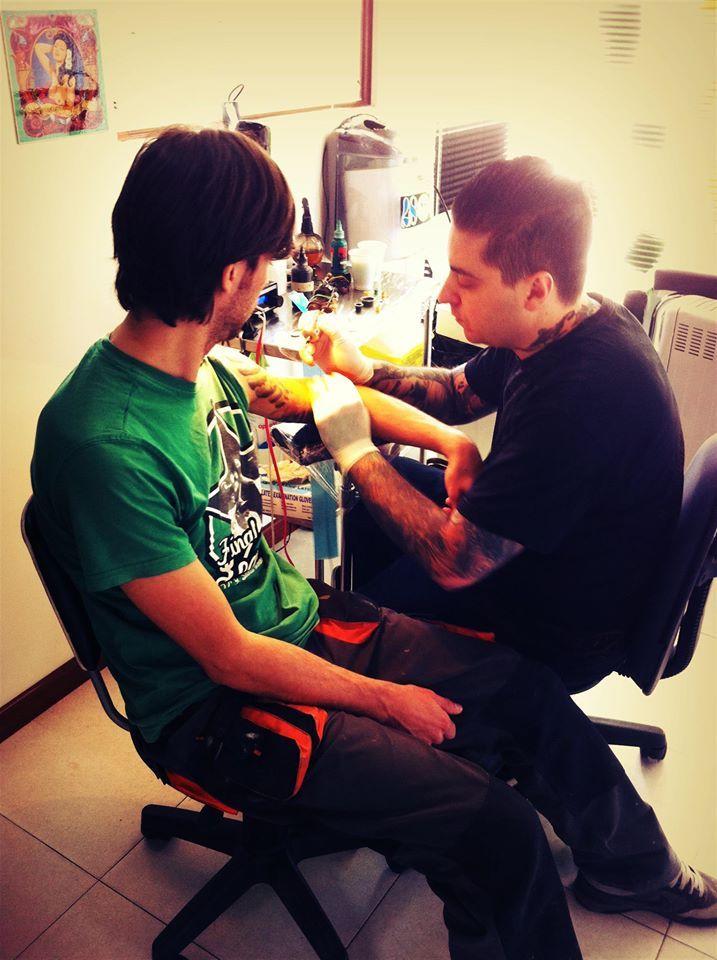 Buenos tatuadores en A Coruña
