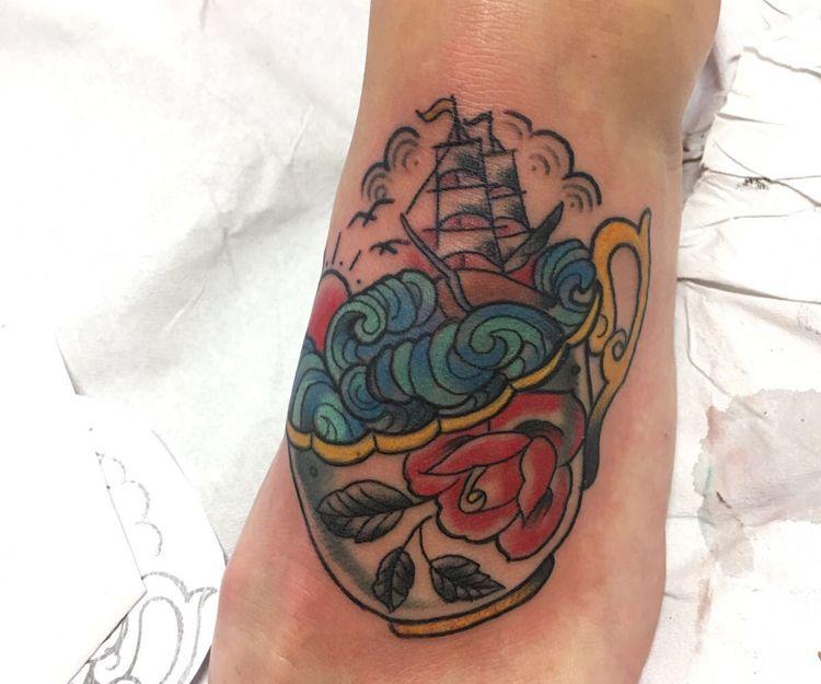Tatuajes para pie