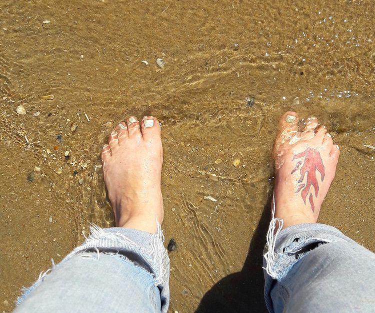 Tatuaje para los pies