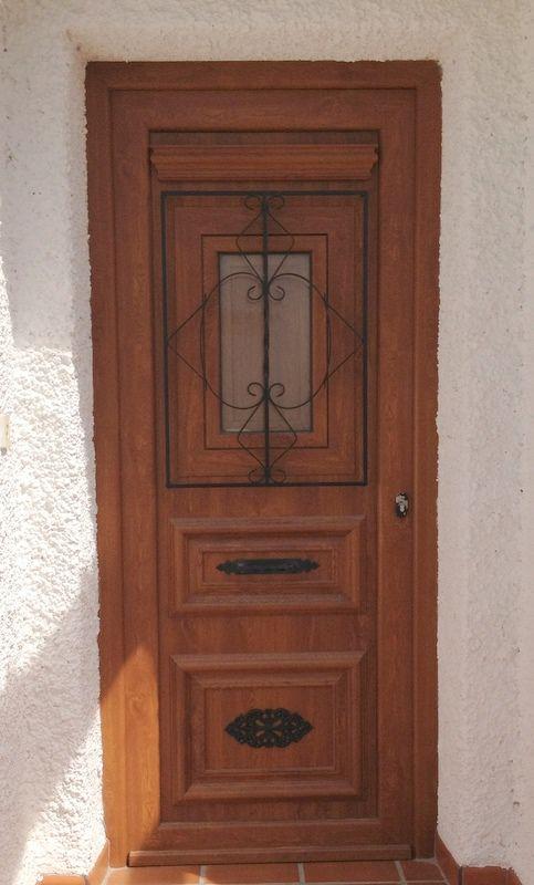 Puerta principal (modelo rustica 1, antiga)