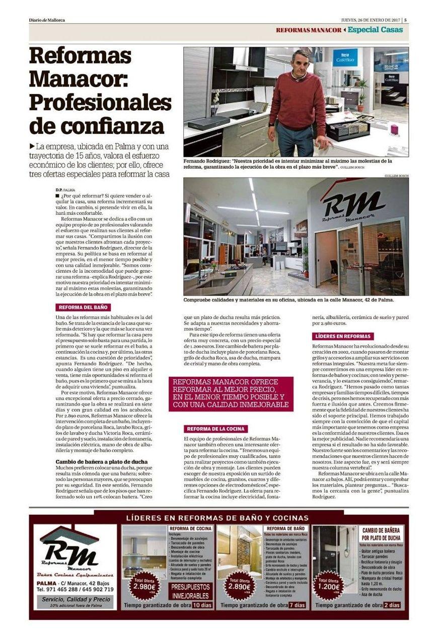 Foto 19 de Albañilería y reformas en Palma | Reformas Manacor