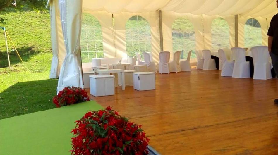 Carpas para bodas en Bilbao