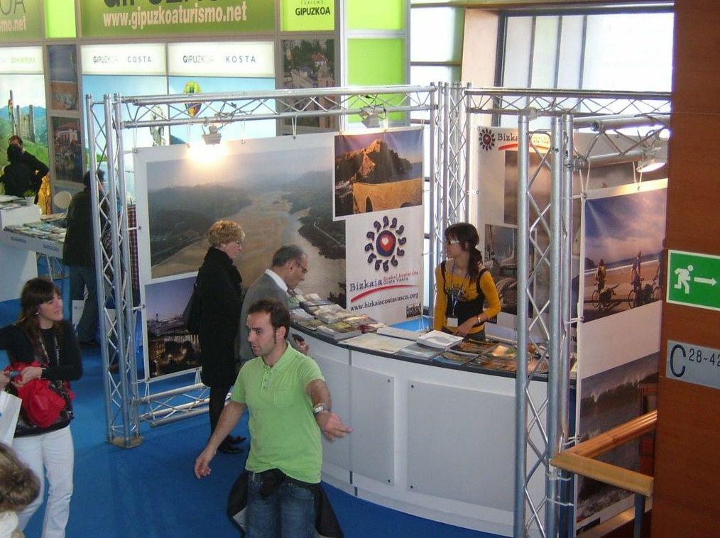 Ferias, stands, congresos en Bizkaia