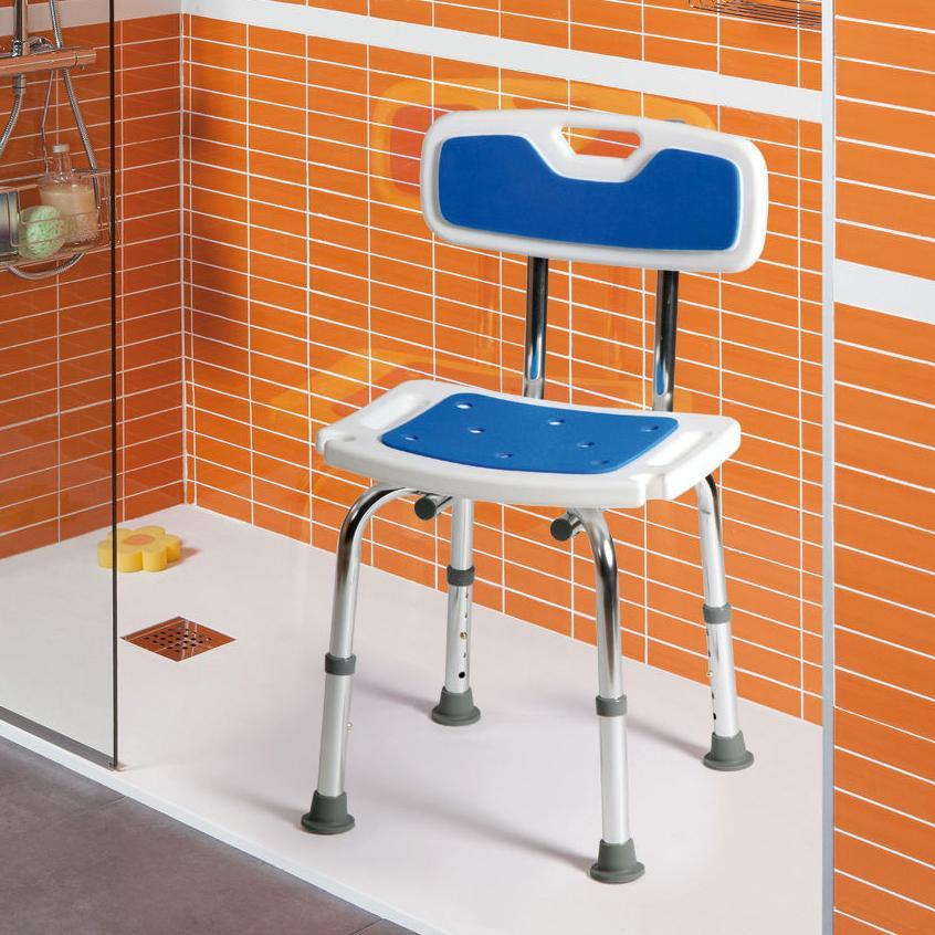 Sillas y taburetes de ducha o ba o cat logo de centro - Banco ortopedico para bano ...