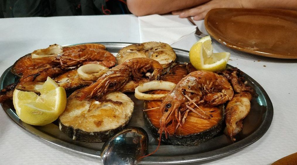 Parrillada de pescado - Parrillada Buenos Aires A Coruña