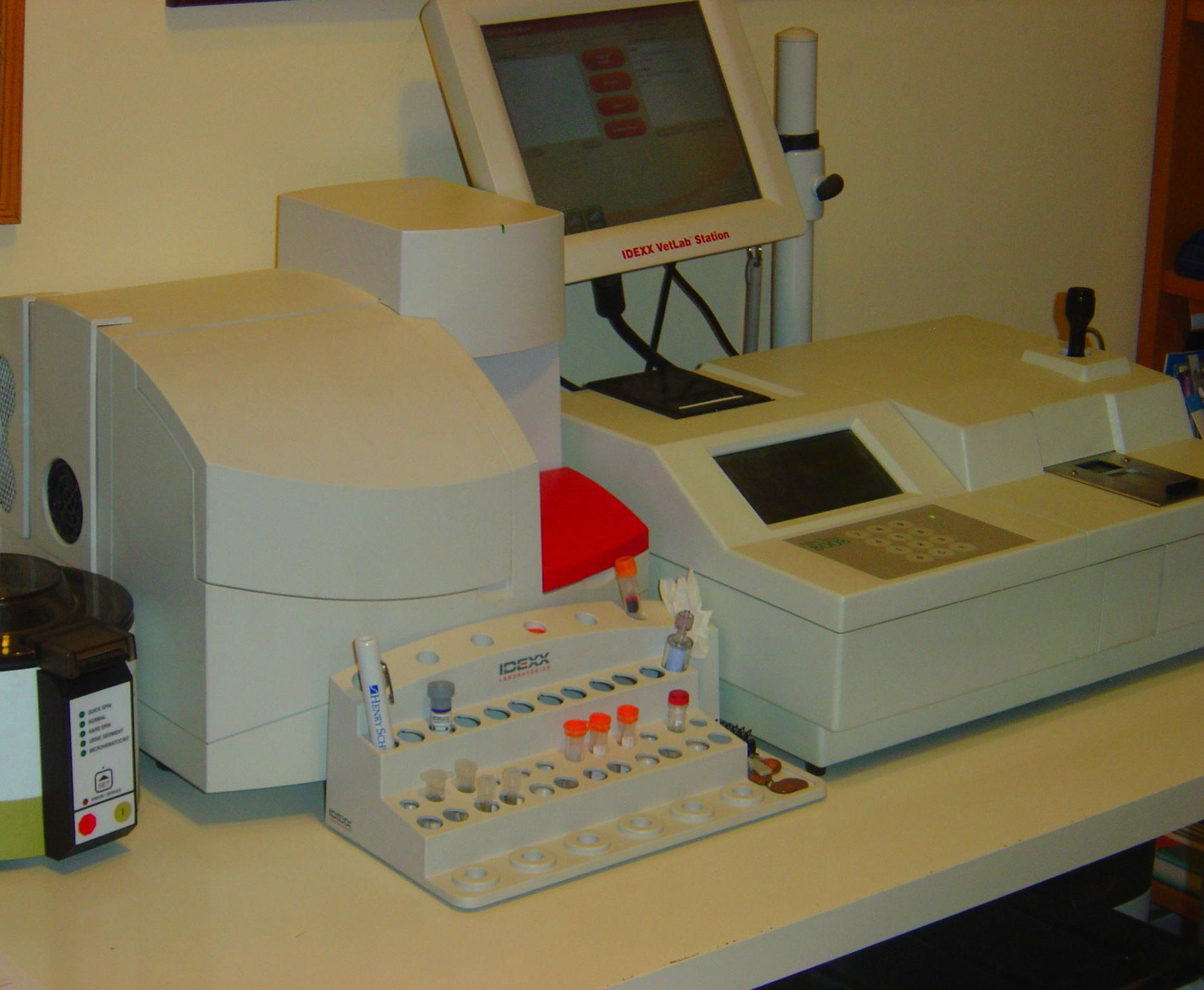 Analizadores de bioquímica y hemograma sanguíneo