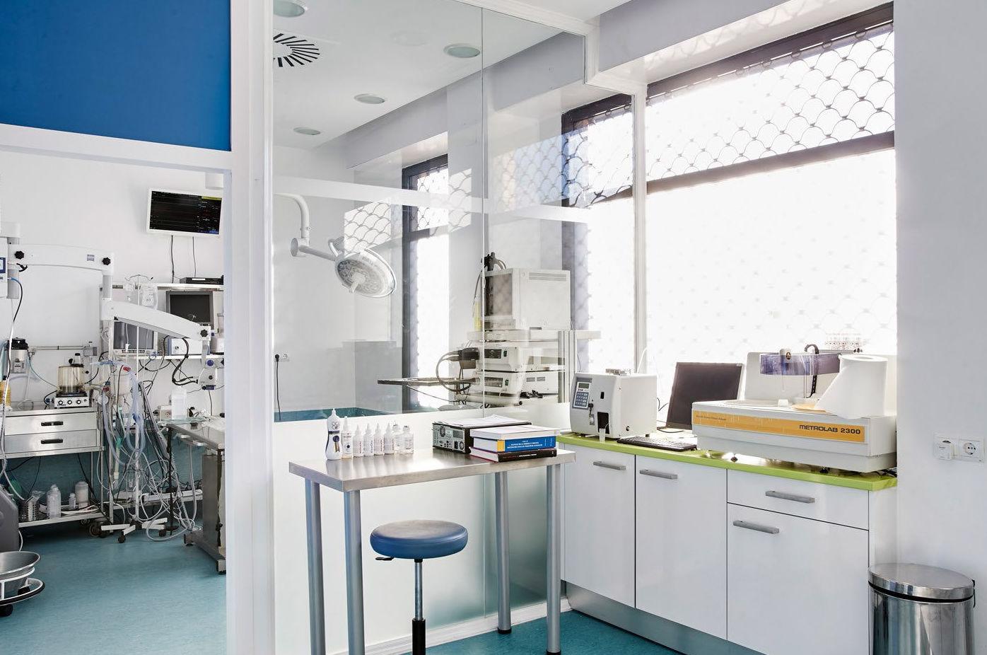 Laboratorio y sala de esterilización