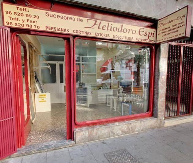 Venta y reparación de persianas en Alicante