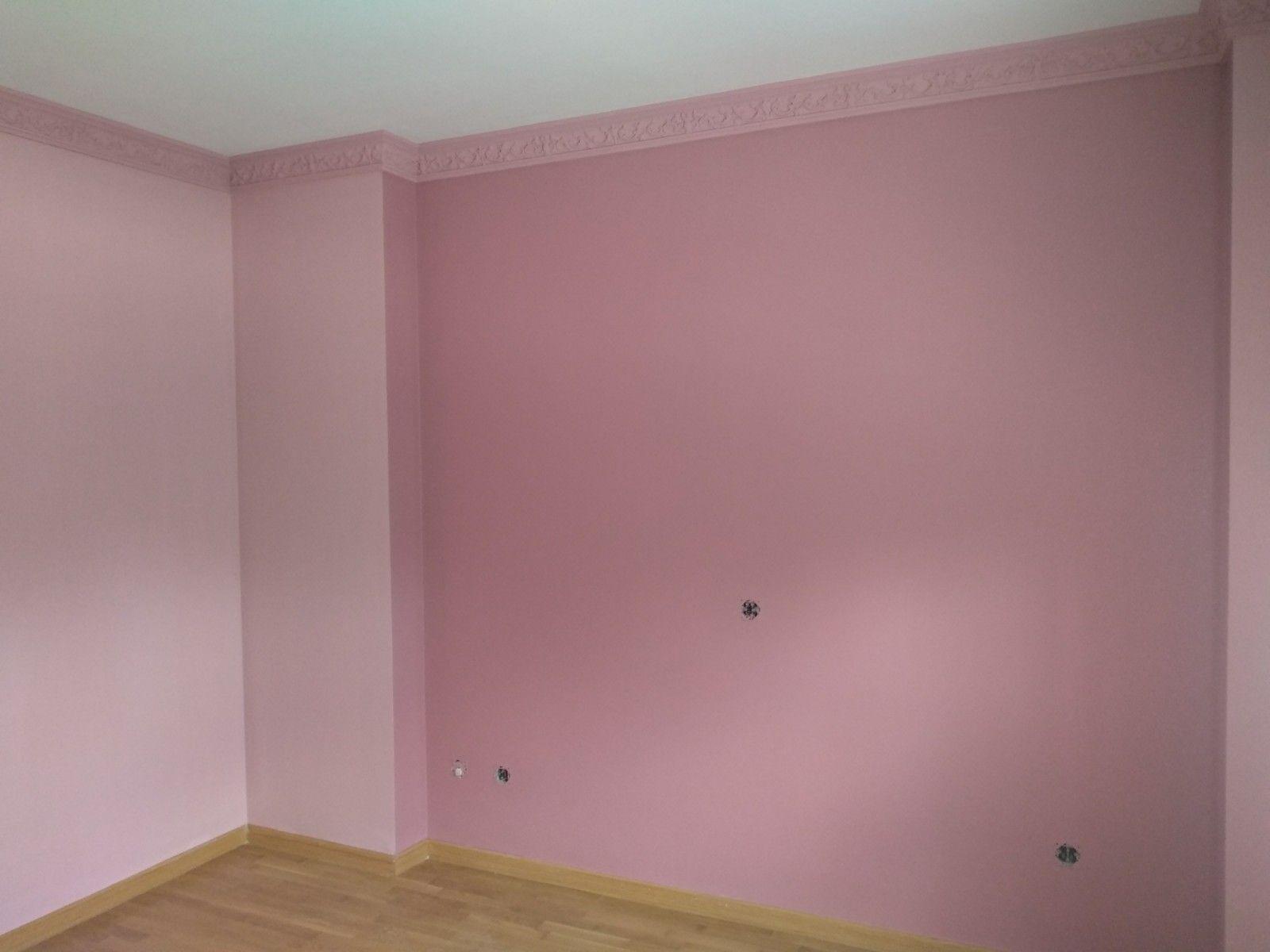 Pintura lisa en hogar