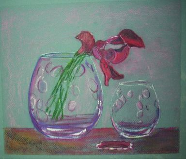 Vasos con flor