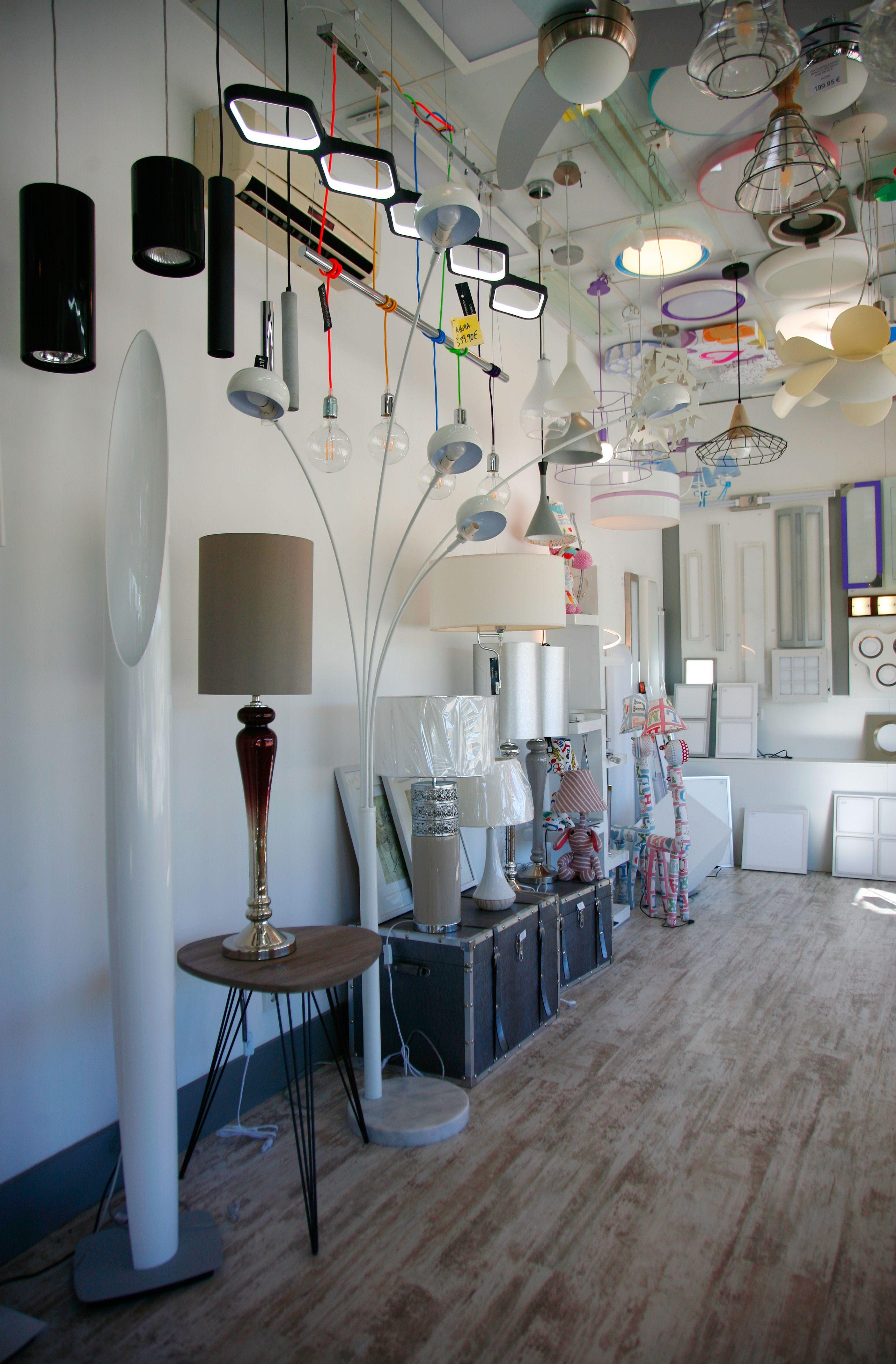 Iluminación de espacios en Zaragoza