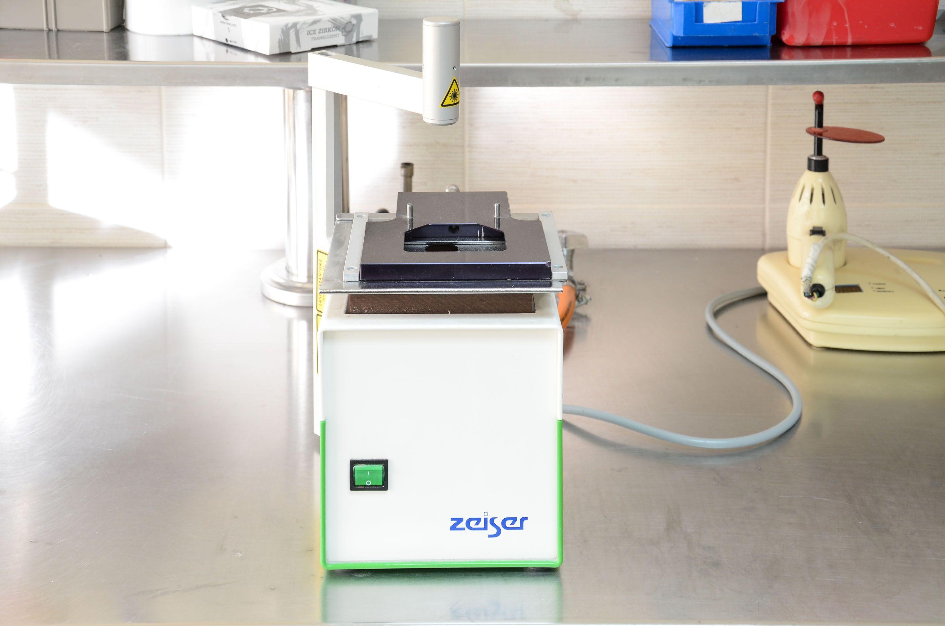 Máquina de sintetizado por laser