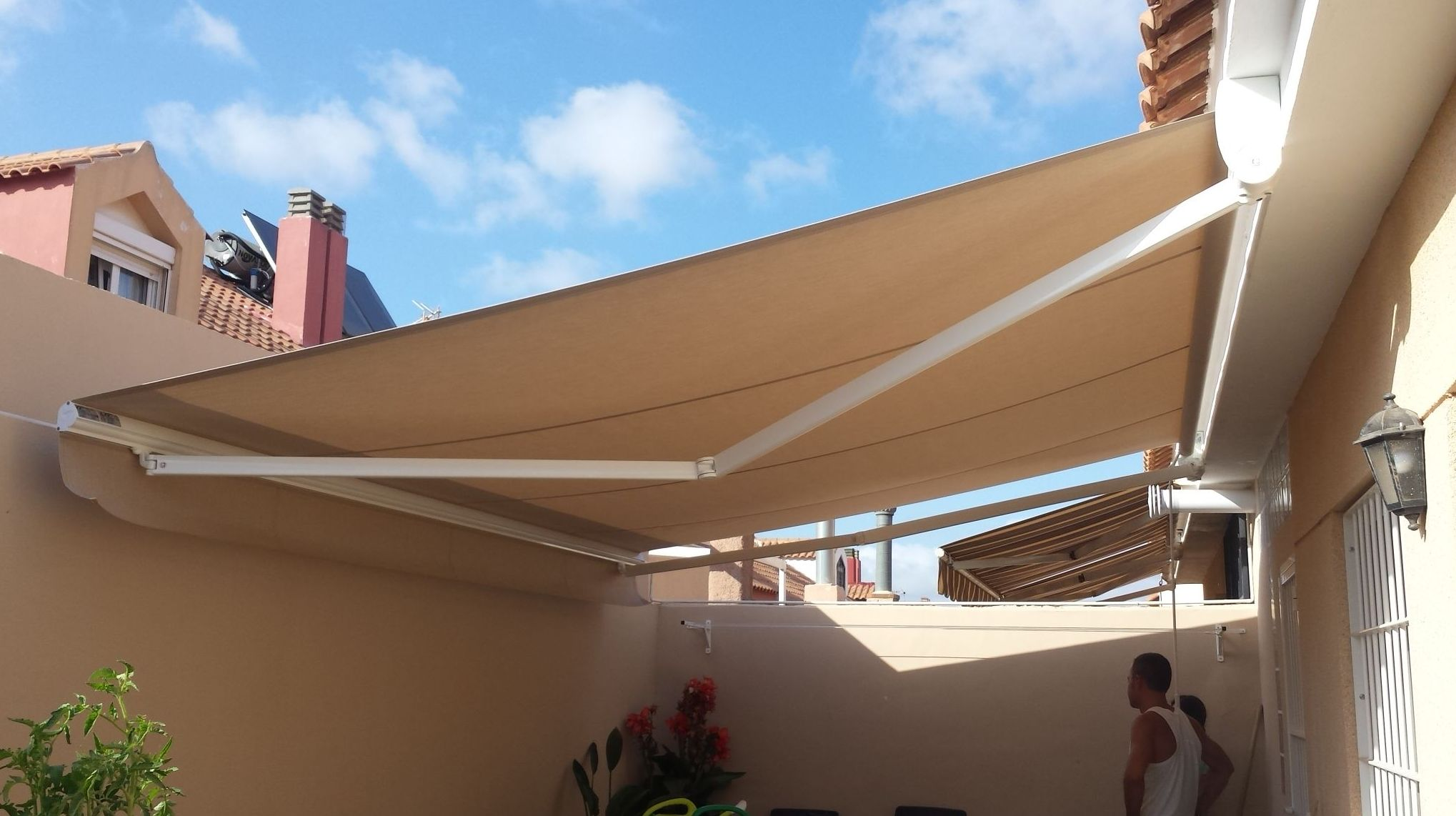 Especialistas en instalación de toldos en Murcia