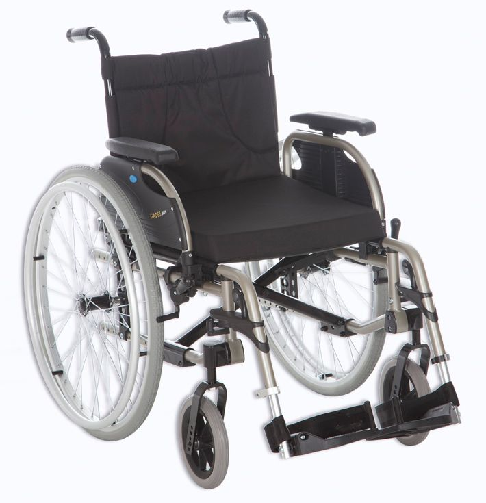 Sillas de ruedas - manuales - aluminio - ayudas - gades aktiv: Productos de Ortopedia Ca N'Oriac