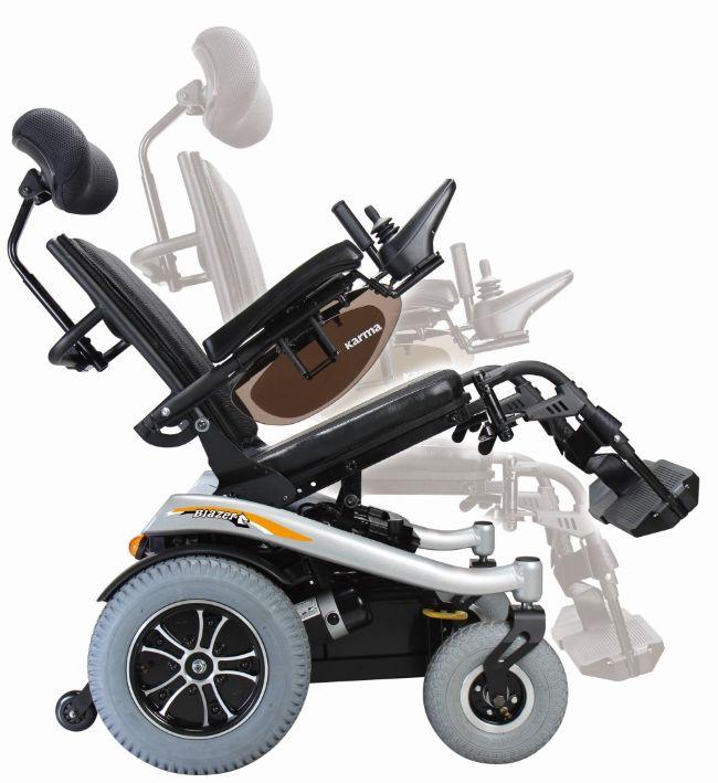 Sillas de ruedas - eléctricas - karma - blazer-t: Productos de Ortopedia Ca N'Oriac