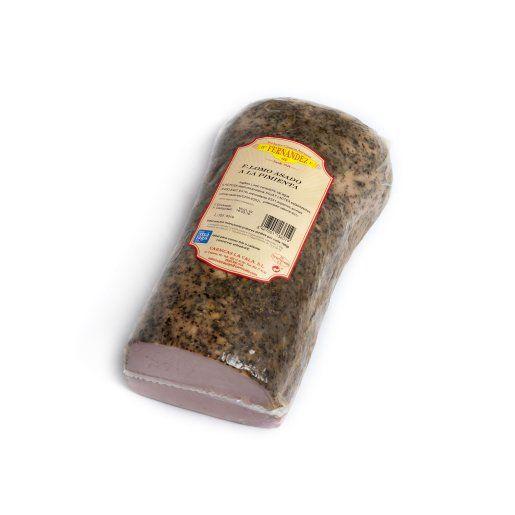Lomo a la pimienta: Productos de Productos Cárnicos Hnos. Fernández