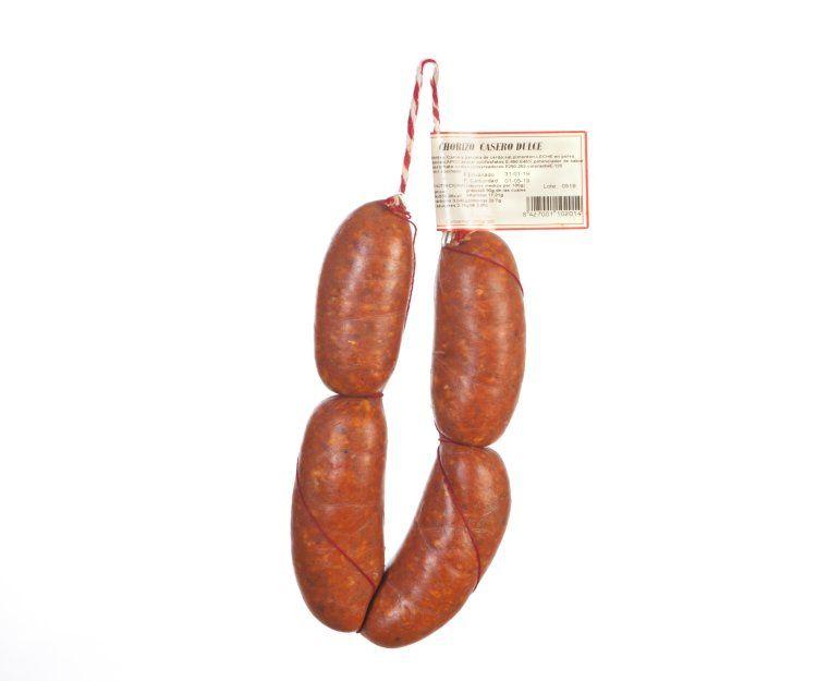 Chorizo casero dulce en Málaga