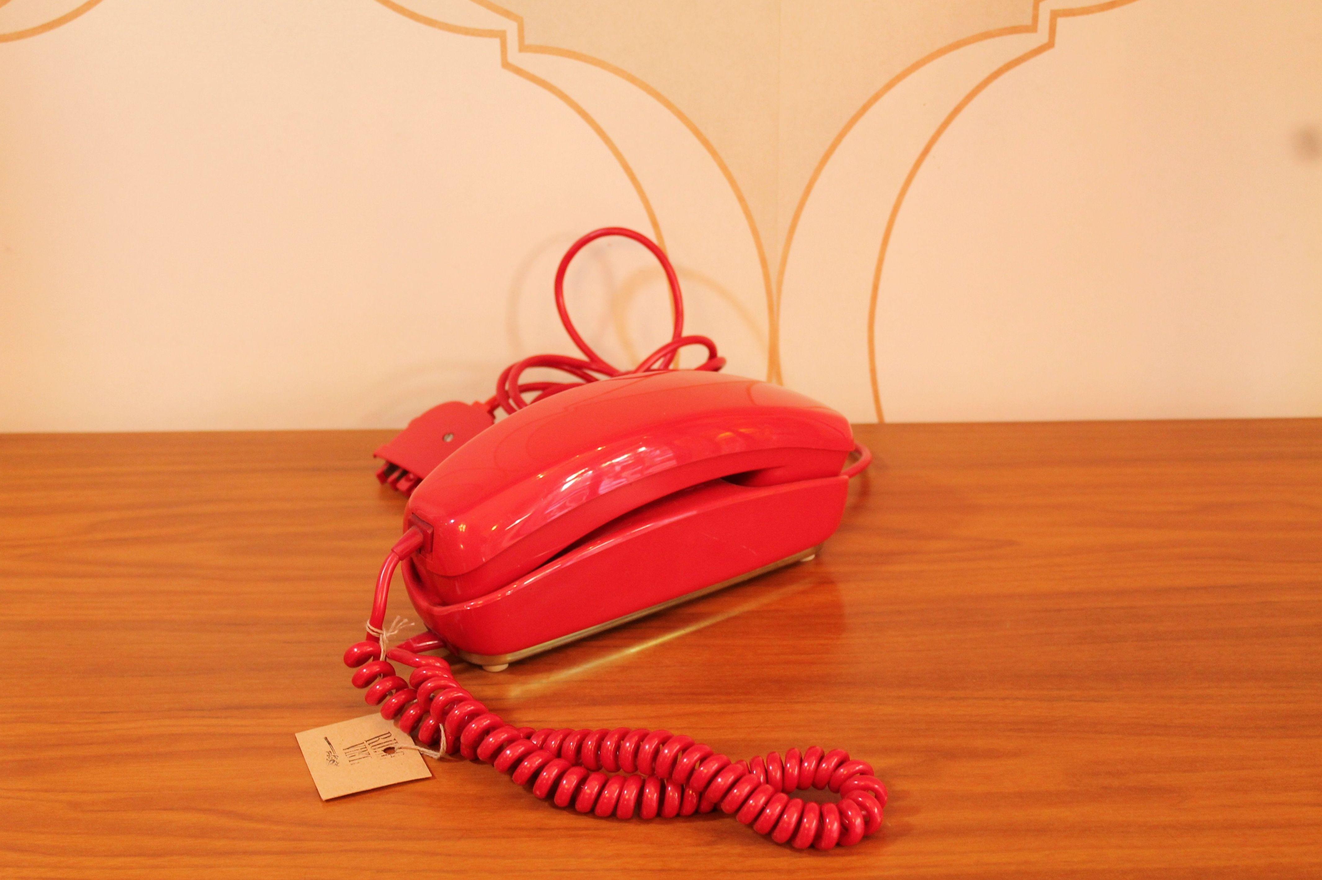 TELEFONO ROJO VINTAGE EN VALENCIA
