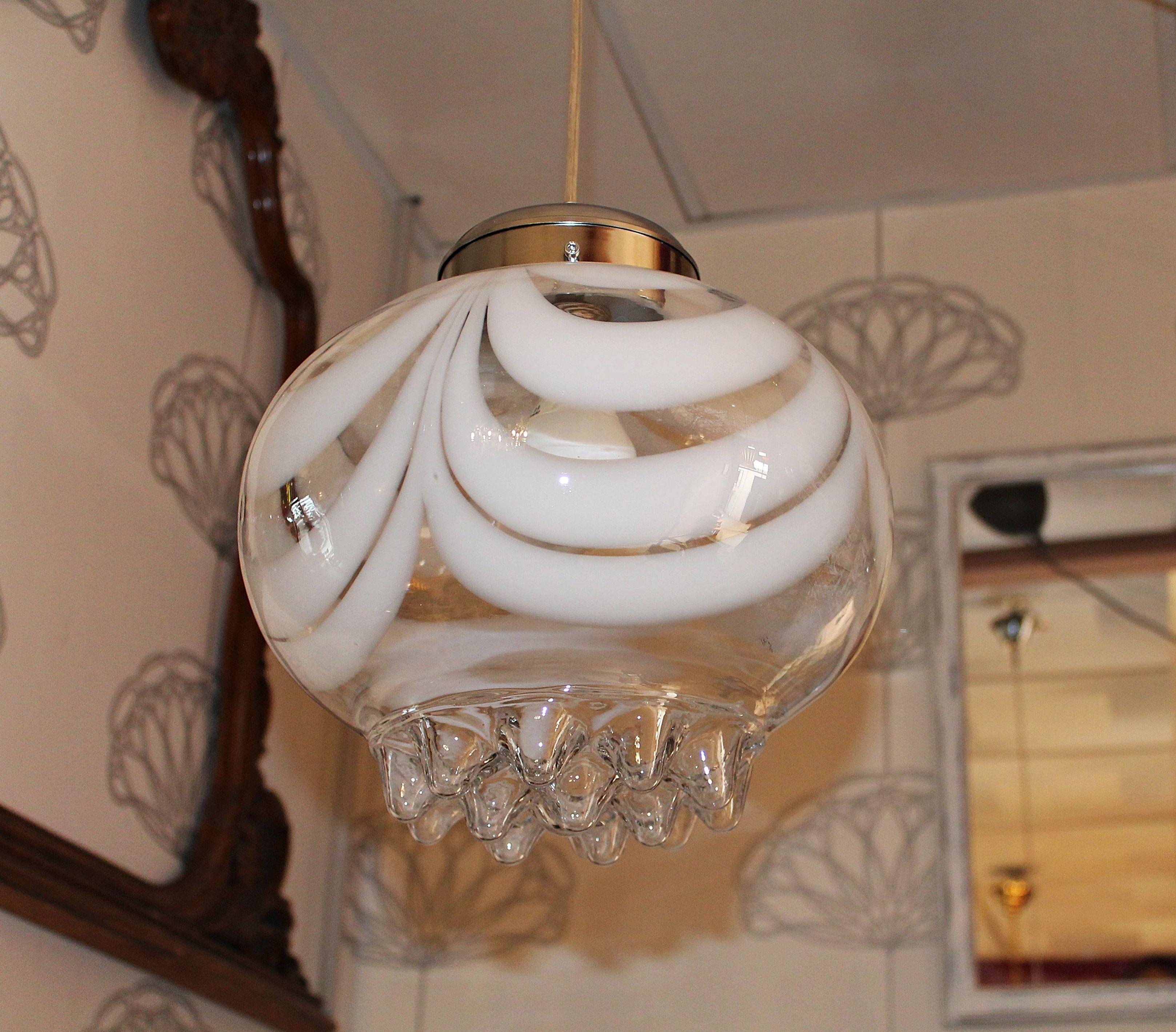 LAMPARA DE CRISTAL MAZZEGA EN VALENCIA