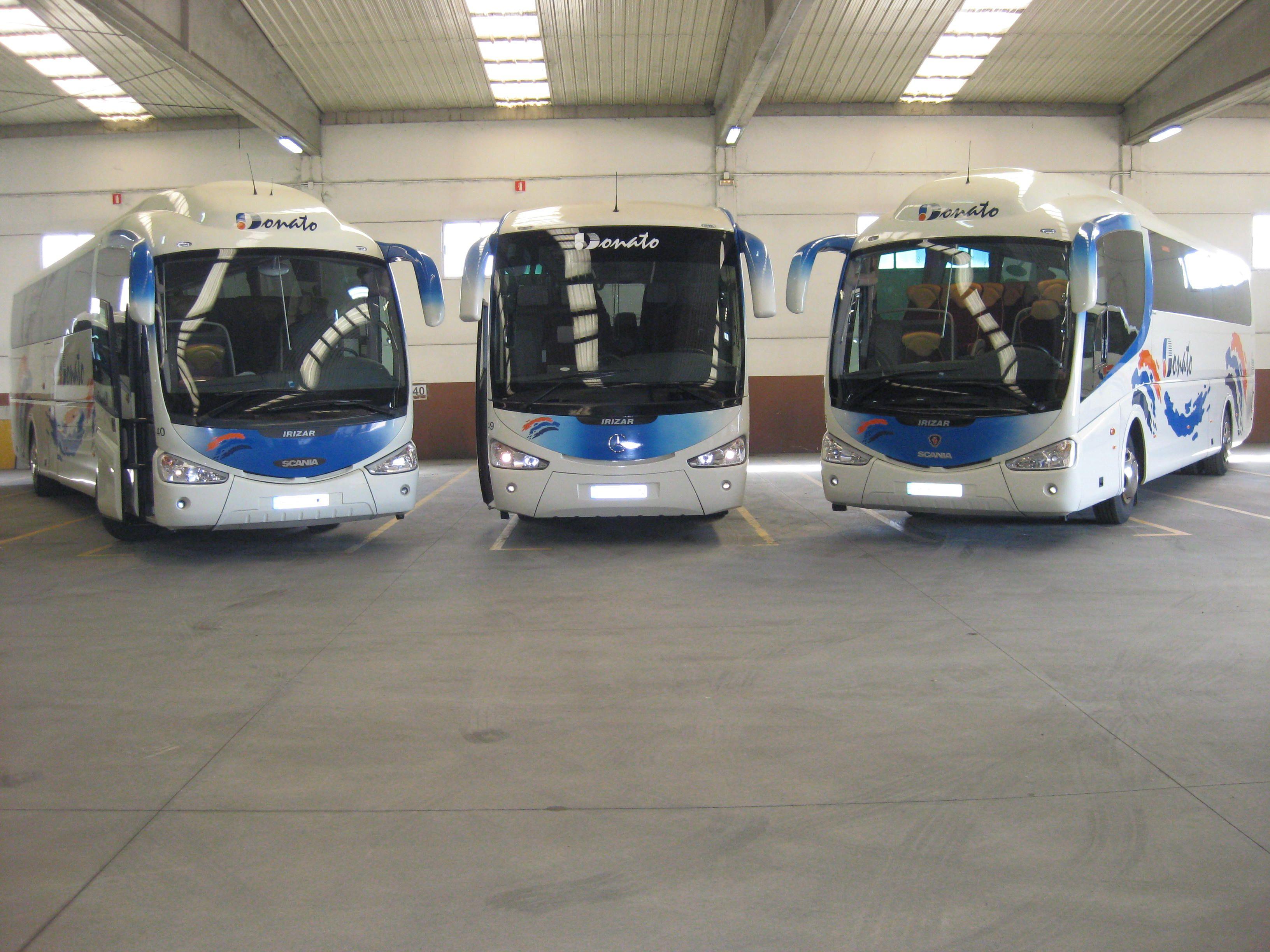 Alquiler de autobuses para bodas Aguilar de Campoo