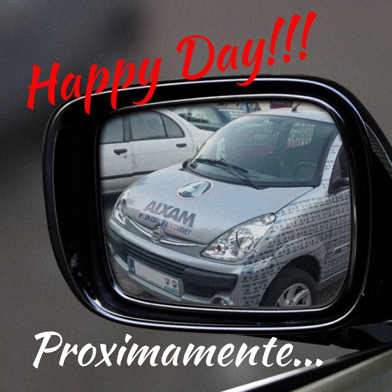 Happy Day muy pronto en Gesercar!!!