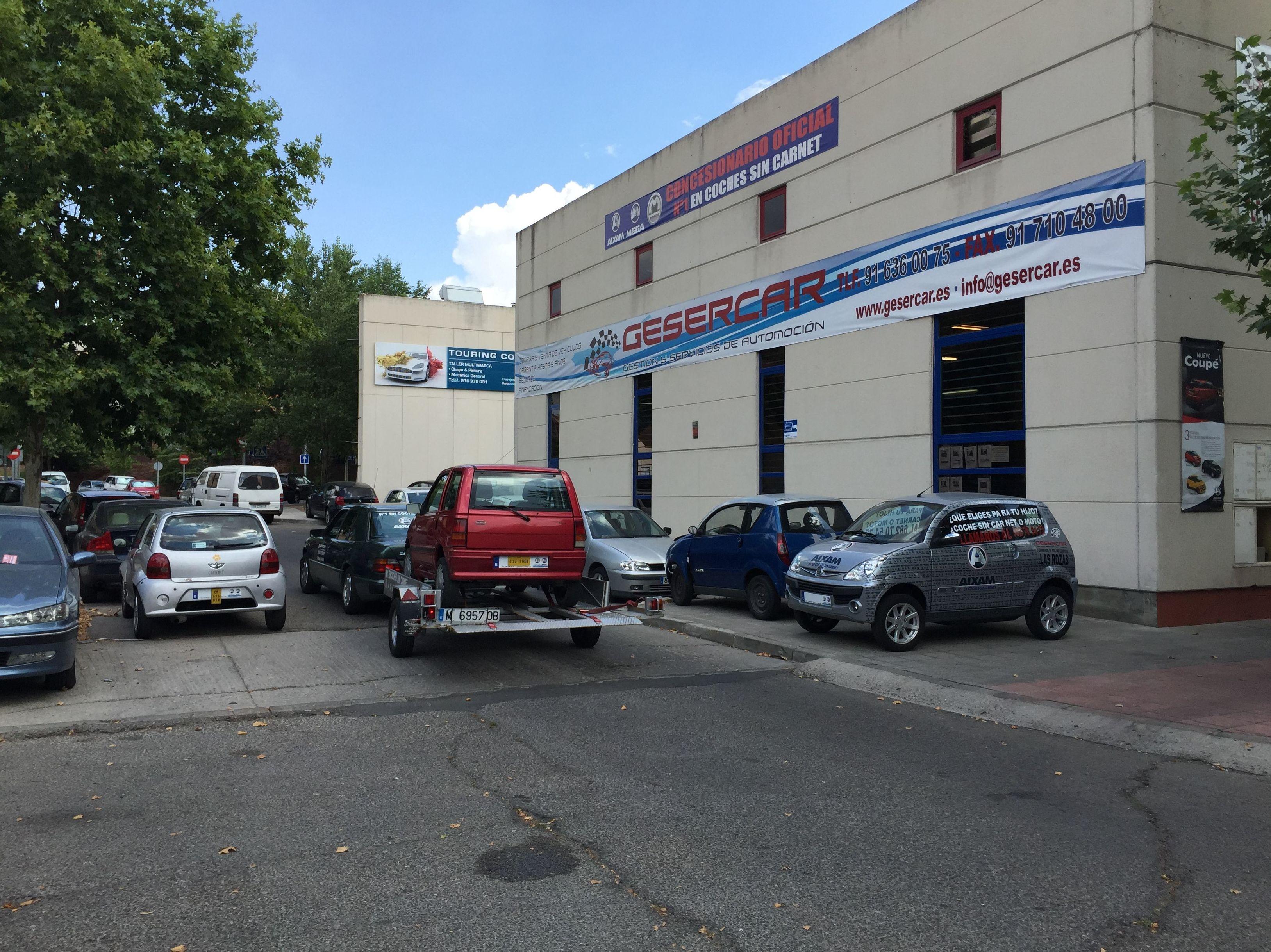 Concesionario oficial Aixam-Mega-Minauto en Las Rozas de Madrid.